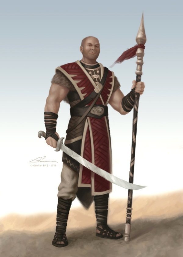 warrior concept_gokhanbas